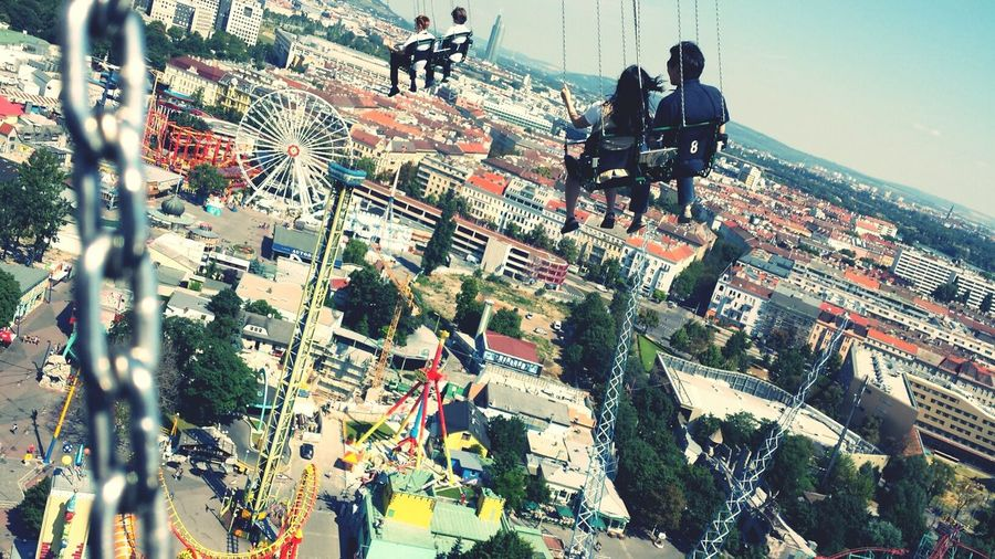 Capture The Moment Hello World Cool Wien Vienna  View Nice Atmosphere I Love My City Hi! Check This Out Austria ❤ Park Karussell Kettenkarusell Flying High