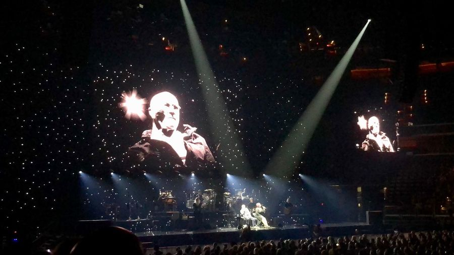 Phil Collins!!! Separate Lives 😔 Separate Lives Against All Odds Phil Collins Night Arts Culture And Entertainment Illuminated Performance Event Real People Music Crowd Enjoyment Stage - Performance Space