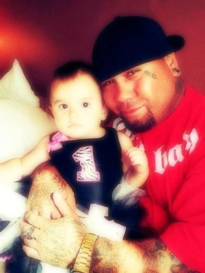 Me and my baby Lagi on her first birthday
