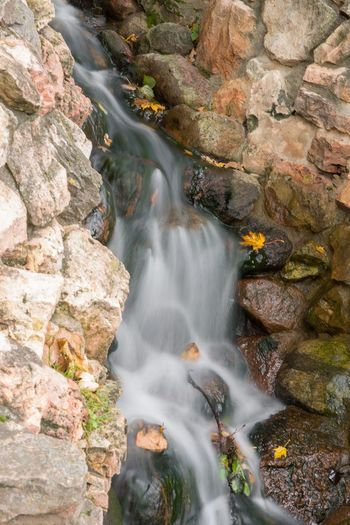 Autumn Leaves Beauty In Nature Blurred Motion Brook Concept Day Ford Long Exposure Motion Mountain Nature No People Nostalgia Outdoors Park Power In Nature Rapid Rock - Object Scenics Stream Tourism Water Water Course Waterfall White Water