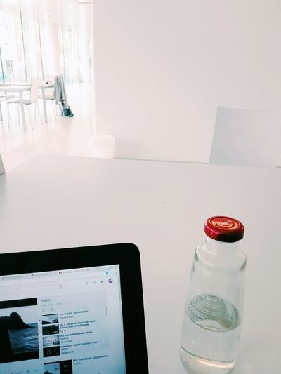 white room. Student Girl Love Happy University Medicine White Room White Room Architecture Interior Design EyeEm Selects Indoors  Wireless Technology Table Food And Drink Technology No People Communication Drinking Glass Red Drink Day Close-up EyeEmNewHere