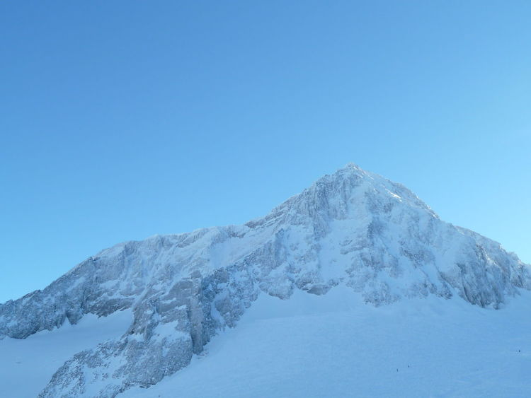 Beauty In Nature Blue Clear Sky Cold Temperature Extreme Terrain Mountain Snow Snowcapped Mountain Winter