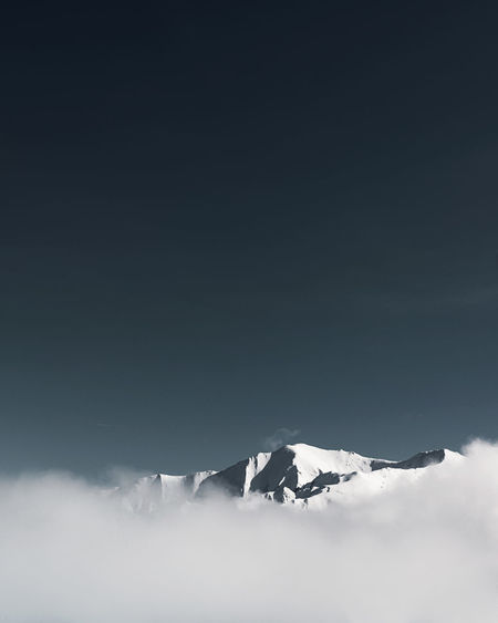 Nature Pyrenees Tranquility Beauty In Nature Beauty In Nature Blue Blue Sky Cloud - Sky Cold Temperature Landscape Mountain Mountain Range Nature Naturelovers No People Outdoors Sky Snow Tranquil Scene Winter Peyragudes EyeEmNewHere TheWeekOnEyeEM