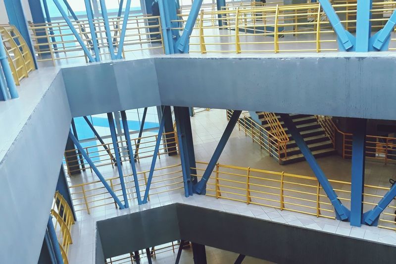 Steps And Staircases Staircase Built Structure Architecture Steps Indoors  Day No People Building Exterior Girder