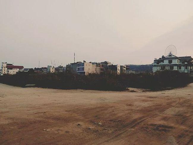 Halong Caoxanh Xom Cymera Old Oldhouse Twilight Sunset BaichayBridge Sunwheel Sand Sky