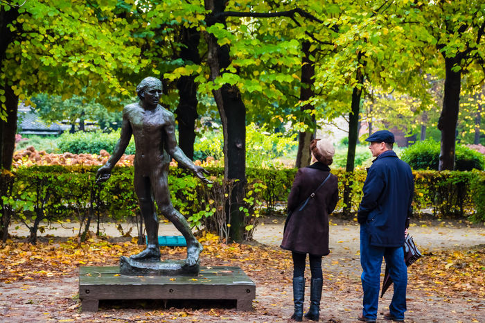 what are you looking at? Adult Adults Only Day Forest Full Length Garden Men Musée Rodin, Paris Nature Only Men Outdoors Paris People Rodin Museum Sculpture Standing Statue Togetherness Tree Two People Women Young Adult