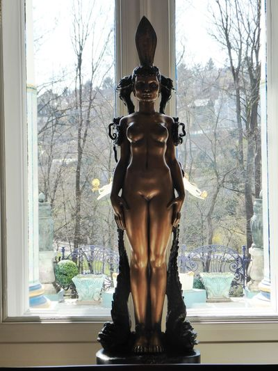 beautiful art For My Friends😚 Lucky Me🦄 Vienna❤ Http://www.ernstfuchsmuseum.at/index.php?id=1 Statue Window Sculpture Close-up