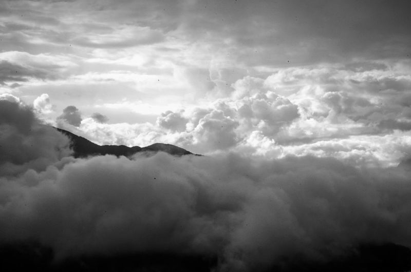 Cloud - Sky Nature Beauty In Nature Sky No People Mountain Storm Cloud Over The Clouds Feel Free Above Baños -Ecuador Tungurahua Climbing A Volcano Ama La Vida Black And White Black And White Photography EyeEmNewHere Flying High Break The Mold The Great Outdoors - 2017 EyeEm Awards Lost In The Landscape