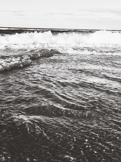 Water Wave Australia Blackandwhite Outdor Nature