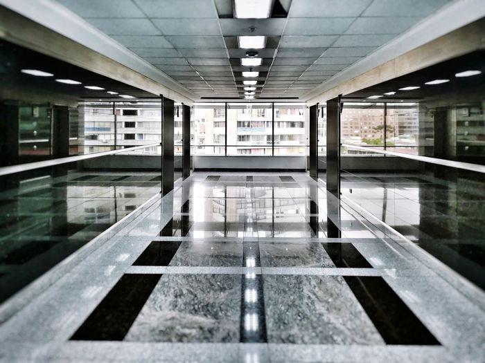 Passage Vscocam Santiago De Chile Santiago Reflection Building Indoors