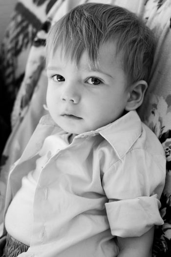 Baby Child Toddler  Black And White B&w Photography Seriousface Littlemonster