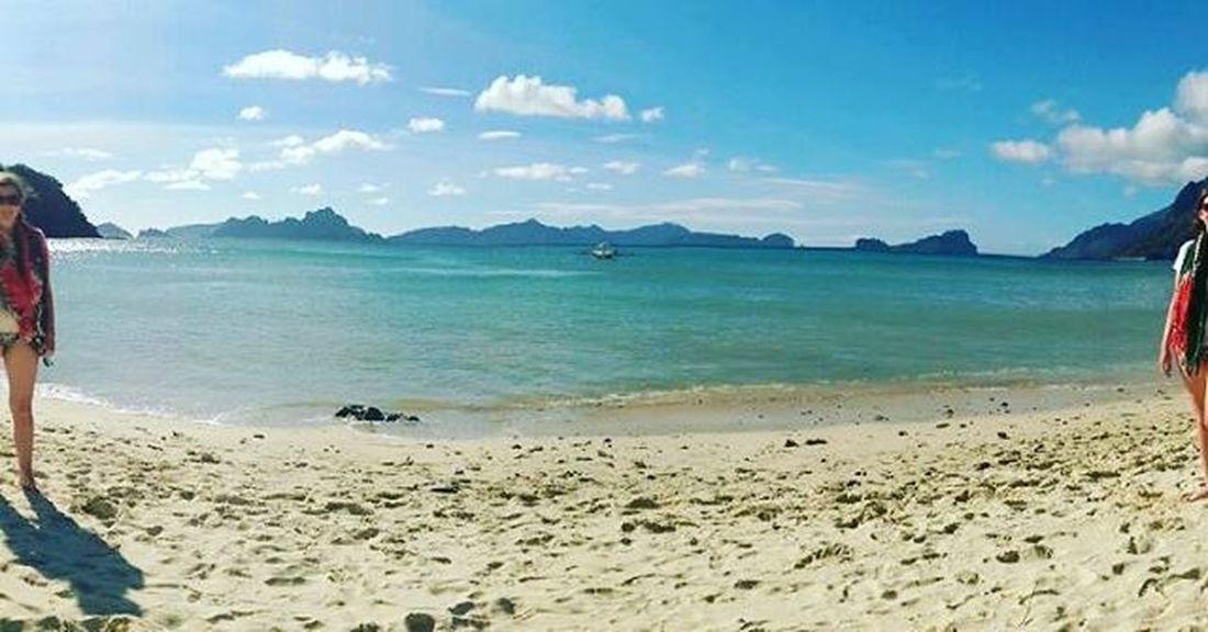 Missing Thephillipines Lascabanasbeach Panorama Seeingdouble Stuckinwork Beach Beautifulworld