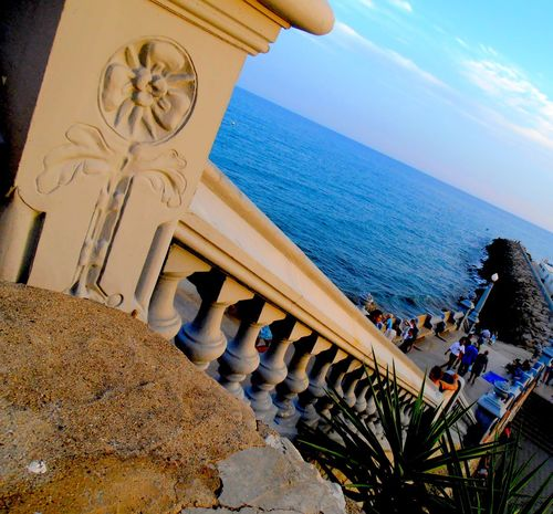 Holidays Architecture City Escape Different Perspective Horizon Over Water Sea Stairway To Heaven Take The Stairs