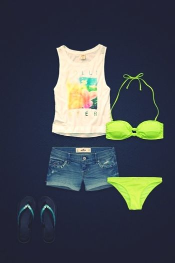 Hollister#Bikini#Top##Hotpan#Summer