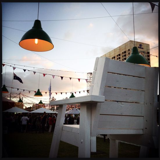 Adelaide Croquet Hipstamatic Illuminated IPhoneography Sunset Urban Vignette