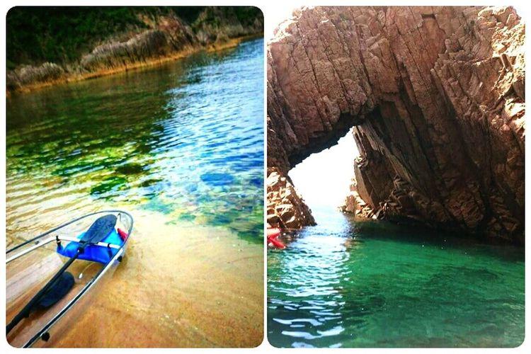 やっぱり、今日の海の透明度は最高!!!さぁてと、夏本番だでぇ!!! EyeEm Gallery Taking Photos Enjoying Life Sea
