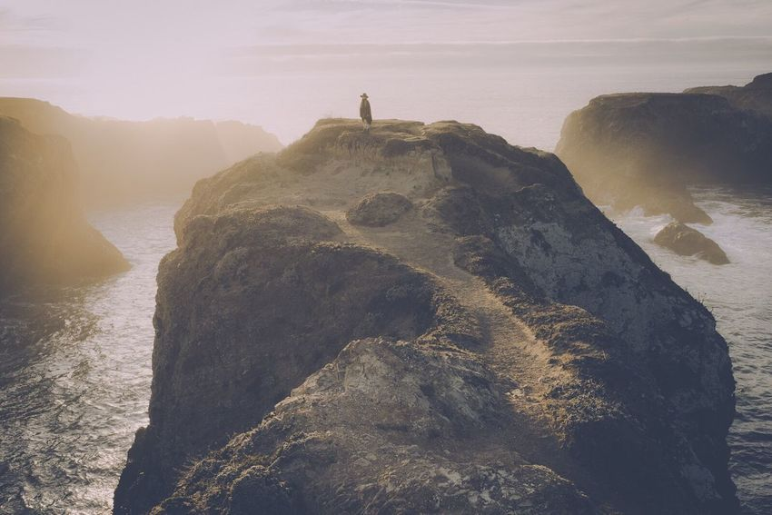 Lost In The Landscape California Ocean