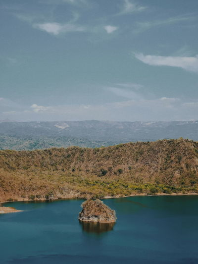 EyeEm Best Shots Adventure Travel Wander Vscophilippines EyeEm Selects EyeEm Nature Lover EyeemPhilippines Volcano Lake View Conquer Taal Taal Volcano Batangas Water Salt - Mineral Lake Sky Calm Horizon Over Water Lakeside The Mobile Photographer - 2019 EyeEm Awards The Minimalist - 2019 EyeEm Awards