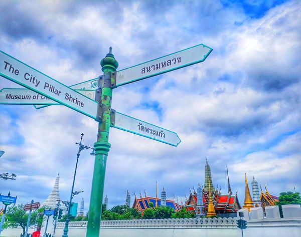 Bangkok Thailand. City Sky Cloud - Sky