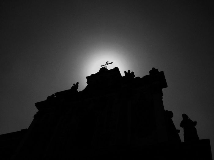 Illuminazione Silhouette Monochrome Blackandwhite Street Photography