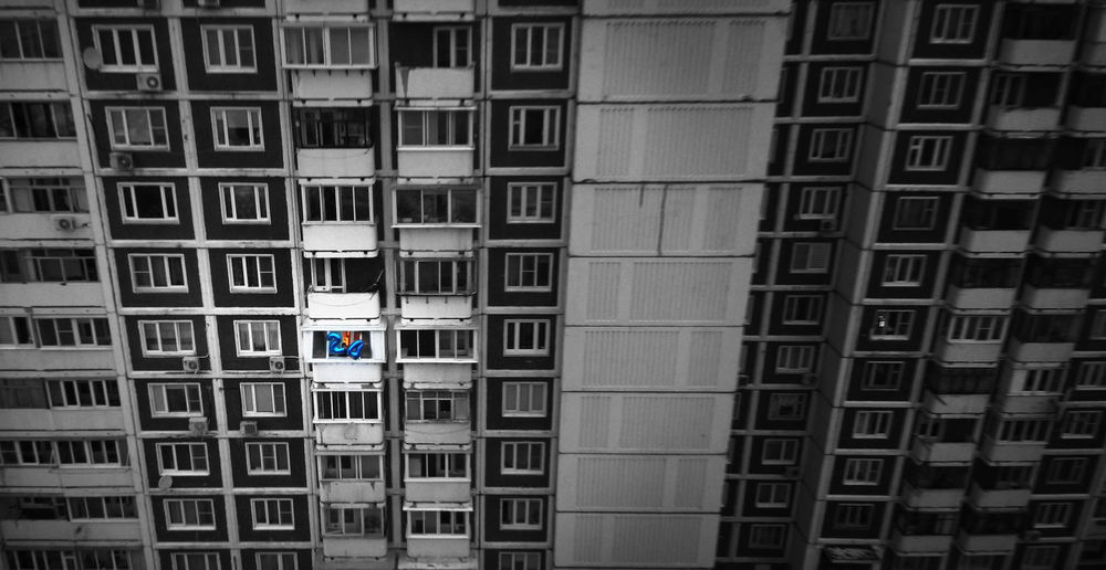 Aerial Shot Drone  Fun Aerial Photography Aerial View Architecture Blackandwhite Block Block Of Flats Bookshelf Building Building Exterior Built Structure City Day Dronephotography No People Outdoors Summer Window