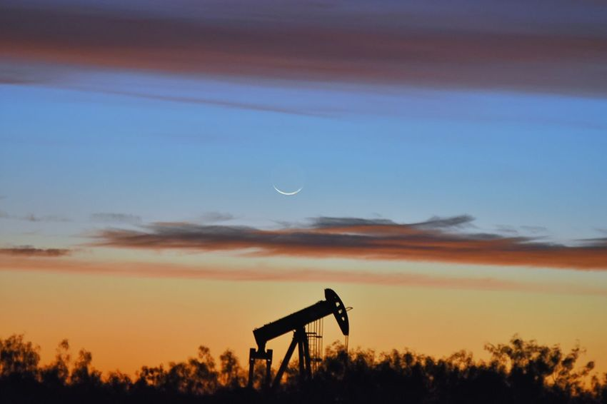 Sunset Sky Nature Dramatic Sky Beauty In Nature Distant Landscape No People Motion Science Outdoors Astronomy Star - Space Galaxy Nikonphotographers Nikon_photography Texasphotographer This Week On EyeEm. Nikon Dslr Oilandgas Oil Industry Oil And Gas Pump Jack Sunrise Sunrise N Sunsets Worldwide