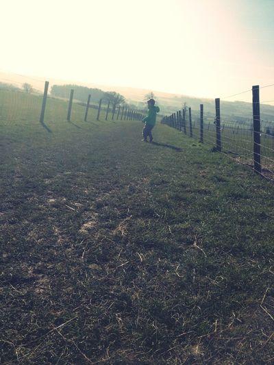 Mummy & Noah's date on a farm