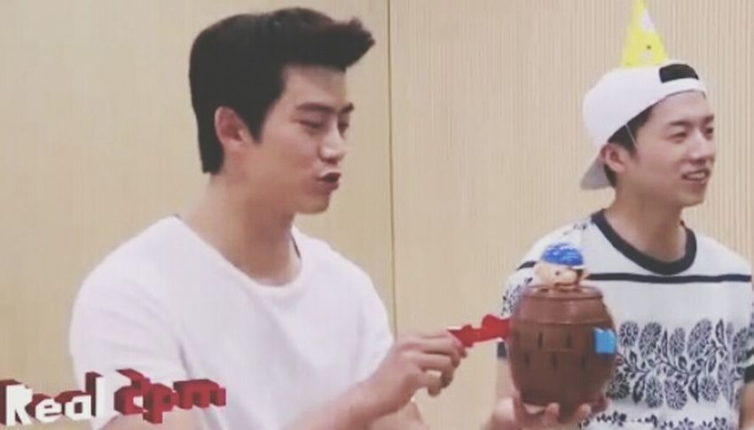 what are you doing oppa ahhh~~~ hahaha Taecyeon Taec_cool