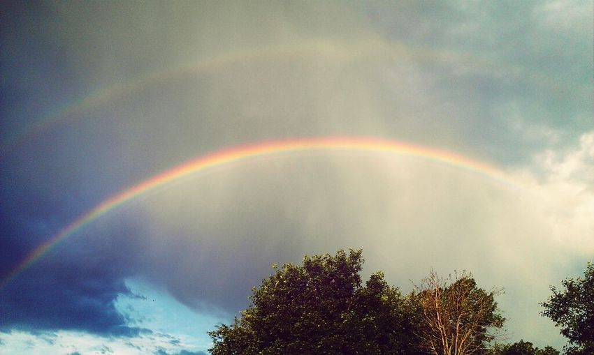 Double Rainbow Rainbow Sky_collection Cloud_collection