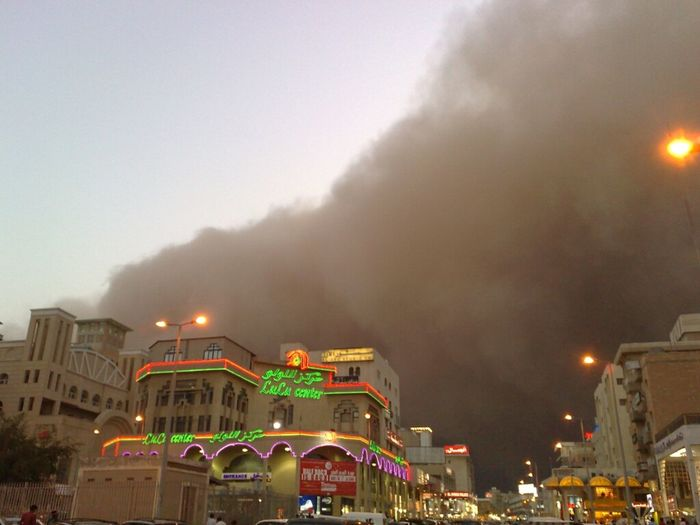 The Most Dreadful Sandstorm Ever Seen In Kuwait
