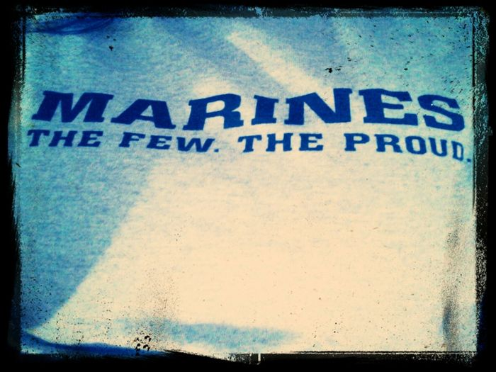 My New TShirt Bradley Got Me, Supporting My Marine All The Way! I Didnt Wait 6 Months Just For The Heck Of It I Did It For The Love We Shared<3 TheFewTheProud Marines ParisIsland USMCWife