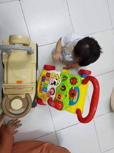 Playtime. Toddler  Playing Fun Young Child