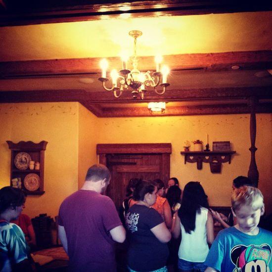 Waiting in Belles house for story time : ) Princessbelle DisneyWorld Magickingdom