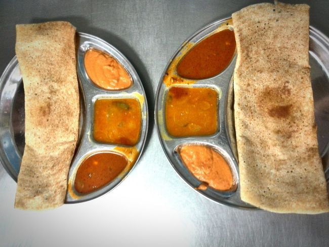 Two Is Better Than One Food Eyeemphoto Indian Food Indiancuisine Eat Beautiful Culture Delicious Tosai Curry Cook  Recipe