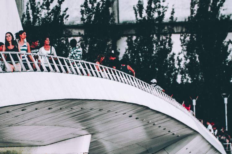 Puente de la mujer Puente De La Mujer Argentina Buenos Aires Puente De La Mujer Sport People Real People Outdoors Ice Hockey Large Group Of People Hockey Adventures In The City The Street Photographer - 2018 EyeEm Awards
