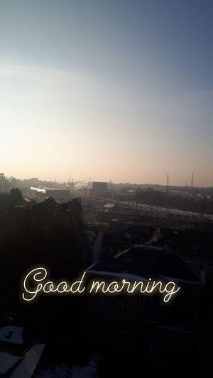 Belgium Good Morning Sunset