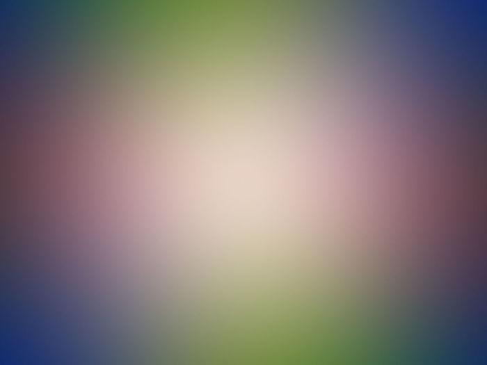 Defocused image of illuminated sky