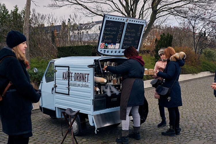 Hot coffee,