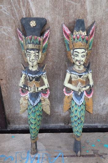 Statue Wood -