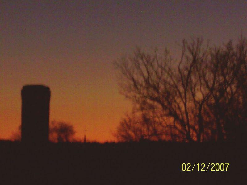 Maine Sanford North Ave Sunset