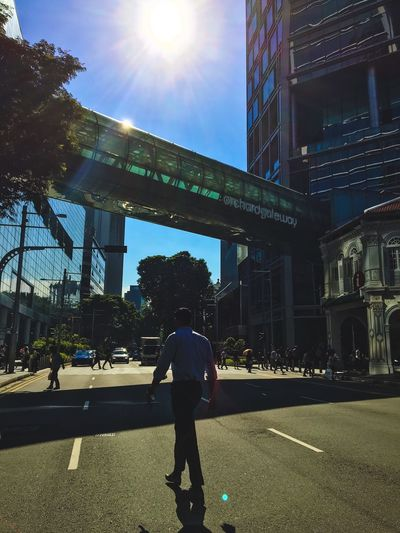 The Street Photographer - 2016 EyeEm Awards Town Road Sun