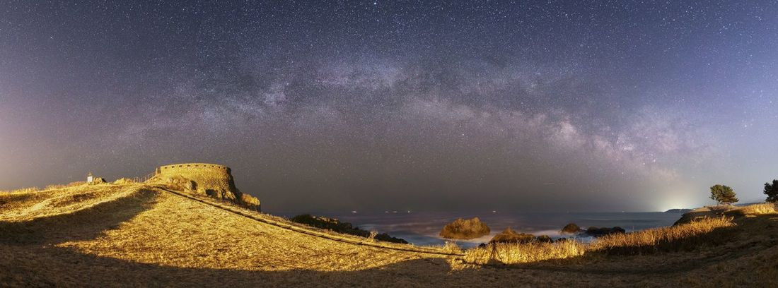 Night Star - Space Astronomy Milky Way Galaxy Star Field Constellation Sky Landscape Space No People Outdoors