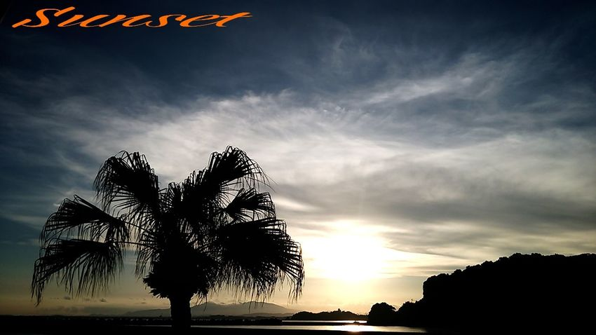 Sunset Miyazaki Kushima Healing Fresh Air Yuka  Enjoying Life 夕凪 Pray For Kyushu
