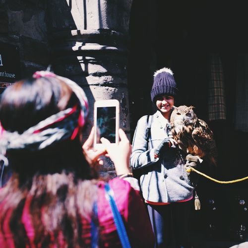 owl is so chill!!!!! This Is What I Saw Uk Scotland Edinburgh Taking Photos Traveling Hanging Out
