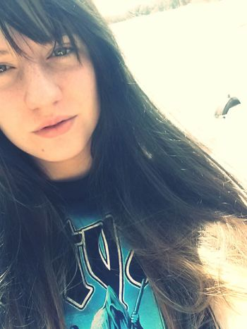 Pretty Girl Cute Selfie