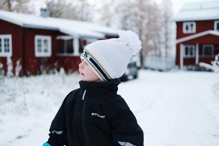 boyhood EyeEm Selects Warm Clothing Snow Cold Temperature Winter Childhood Child Headshot Knit Hat Jacket Winter Coat Hooded Shirt Hood - Clothing Ski Jacket Holy Week Wearing Deep Snow Blizzard Snowman Snowfall Snowing