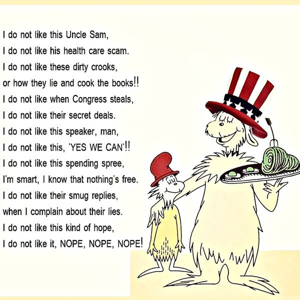 Republican Idonotlike Work Poems