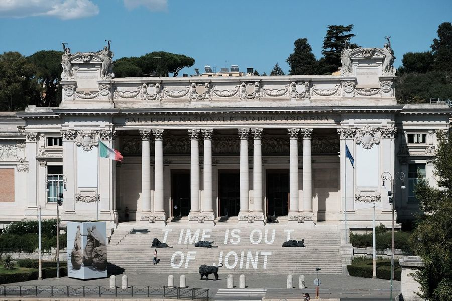 Rome, Italy - August 15, 2017: The Galleria Nazionale d'Arte Moderna or National Gallery of Modern Art. It is an art gallery in Rome, founded in 1883 and dedicated to modern and contemporary art Galleria Nazionale D'Arte Moderna National Gallery  National Gallery Of Art Roma Rome Rome Italy🇮🇹 Rome, Italy Sightseeing Travel Traveling Travelling Architecture Building Exterior Built Structure Cultural Culture Façade Heritage Museum No People Outdoors Rome Italy Text Tourism Travel Destinations