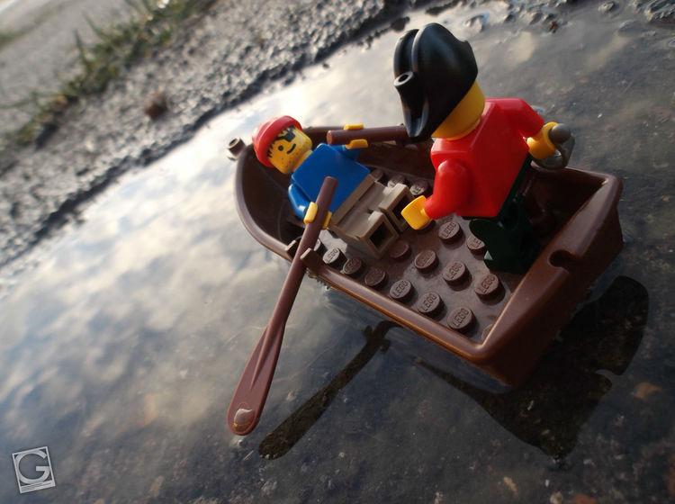 Playing pirates #Lego #toyphotography