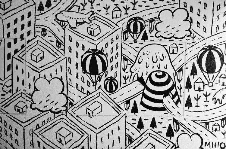 Graffiti Streetphotography Blackandwhite Wall Art Inmytown Lugano Graphic Design